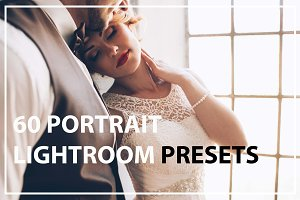 60 Portrait Lightroom Presets