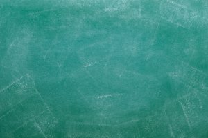 green dirty chalkboard