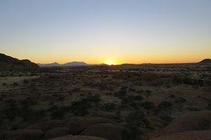 Sundown: Namibia