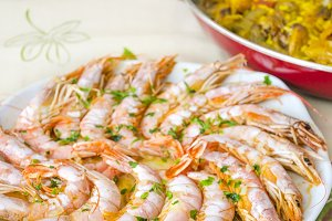 Spanish food, paella
