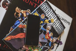 iPhone and Comic Books