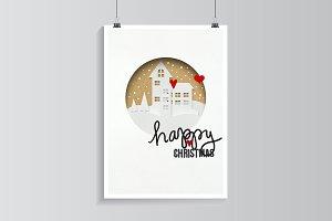 Christmas houses.