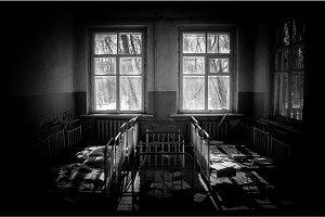 Abandoned nursery at Chernobyl