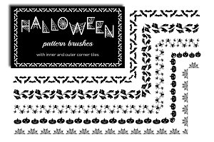 Halloween Pattern Brushes