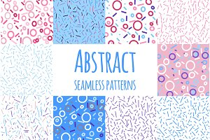 22 abstract seamless patterns