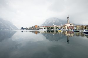 Lecco village, Lake Como