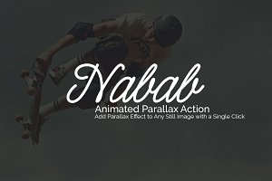 Nabab Animated Parallax Action