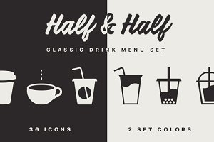 Half & Half Icon Pack