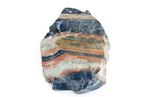 Colorful stone