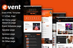 Event Html 5 Template