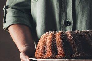 Homemade bundt cake