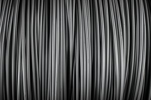 Large coil of Aluminum wire