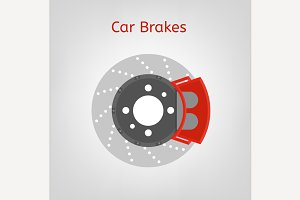 Car brakes image