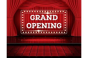 Grand Opening.