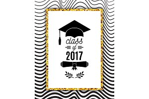 Class of 2017 greeting card