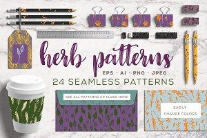 Herb patterns