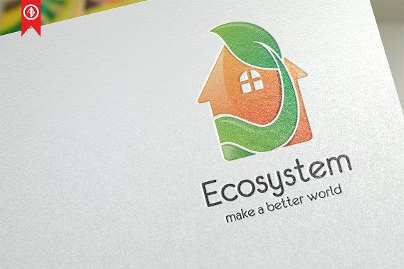 Ecosystem Home Logo Template