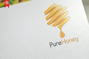 Pure Honey - Logo Template