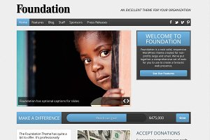 Foundation Nonprofit WordPress Theme