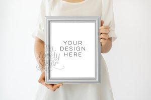 Silver Frame