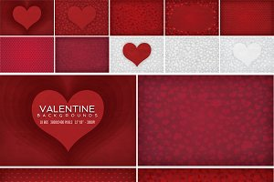 Valentine/ Heart Backgrounds