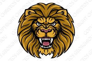 Lion Sports Mascot