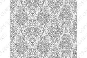 Vintage Art Nouveau Pattern