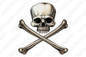 Jolly roger illustration