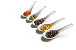 assorted aromatic seasonings
