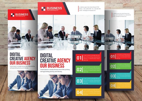 Digital Agency Flyer