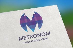 Metronom (Letter M) Logo