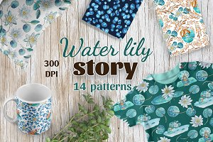 Water lily story - Patterns