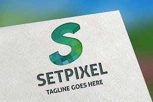 Setpixel (Letter S) Logo