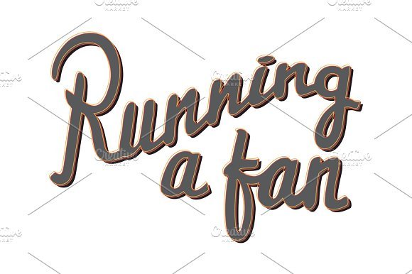 Running A Fan Running Marathon Badge Lifestyle