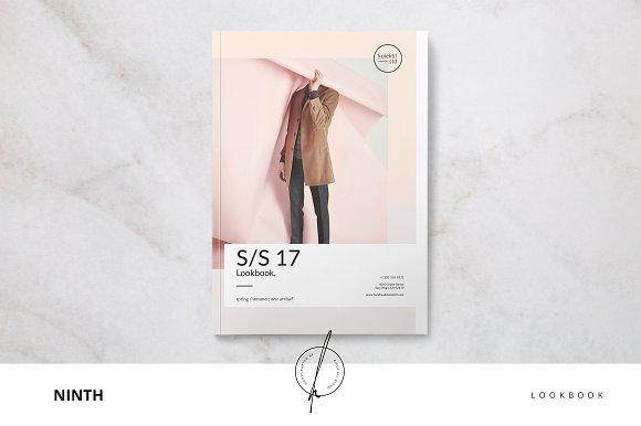 Ninth Lookbook-Graphicriver中文最全的素材分享平台