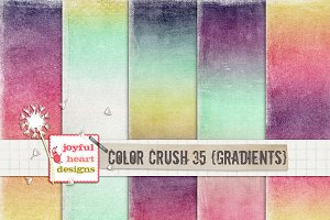 Color Crush 35 {gradients}