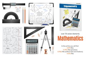 Math Science Realistic Set