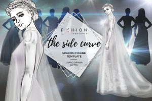 Fashion Figure Template- Side Curve