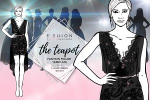 Fashion Template- The Teapot