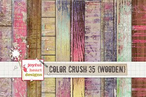 Color Crush 35 {wooden}