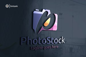 P Letter Photography Logo