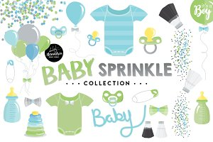 Baby Sprinkle Graphics & Patterns