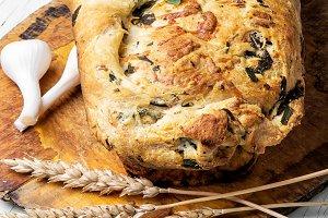 Fragrant baked bread