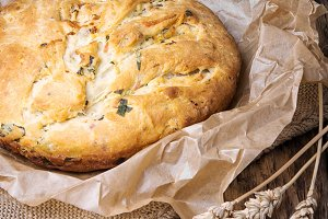 Fragrant baked bread