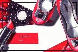 Poppy fashion set
