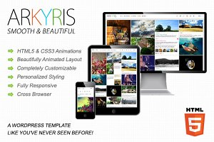Arkyris | Single Page Multi-Purpose
