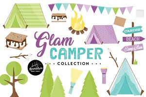 Glam Camper Graphics & Patterns