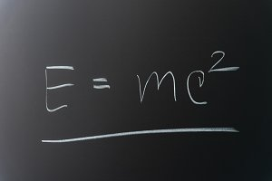 Theory of relativity formula