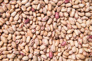 Pinto beans.