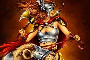 The Lion Rider